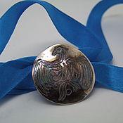 "Amulet handmade. Livemaster - original item Shaman`s mirror ""Eagle`. Handmade."