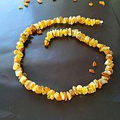 Работы для детей, handmade. Livemaster - original item Natural Baltic amber beads, necklaces, healing beads, amber. Handmade.