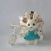 Куклы и игрушки ручной работы. Ярмарка Мастеров - ручная работа Зайчонок валяный. Handmade.