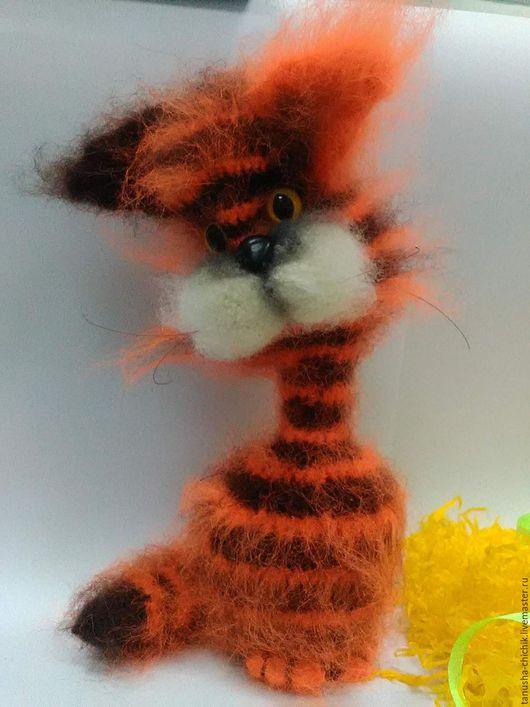 Игрушки животные, ручной работы. Ярмарка Мастеров - ручная работа. Купить Кошки в подарок. Handmade. Рыжий, кот игрушка