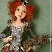 Куклы и игрушки ручной работы. Ярмарка Мастеров - ручная работа Бетти с мишкой. Handmade.