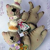 Куклы и игрушки ручной работы. Ярмарка Мастеров - ручная работа Подарочные котики. Handmade.