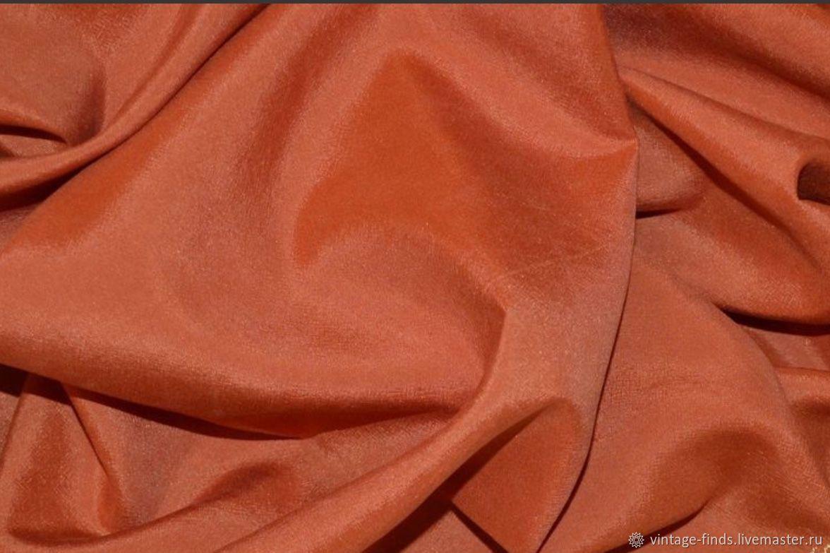 Старинная ткань натуральный шёлк, , Вышний Волочек, Фото №1