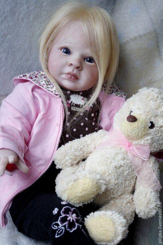 Куклы-младенцы и reborn ручной работы. Ярмарка Мастеров - ручная работа. Купить Кукла реборн Белла.. Handmade. Розовый, текстиль
