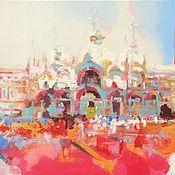 Картины и панно ручной работы. Ярмарка Мастеров - ручная работа Венеция Собор Святого Марка. Handmade.