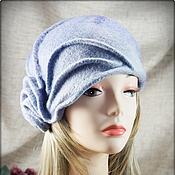 """Шляпы ручной работы. Ярмарка Мастеров - ручная работа Шляпка """"Туман над озером"""". Handmade."""