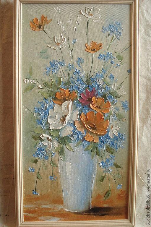 Картины цветов ручной работы. Ярмарка Мастеров - ручная работа. Купить Нежность. Handmade. Картина, картина маслом, картина на холсте