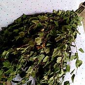 Веник березовый со зверобоем. Для баньки.