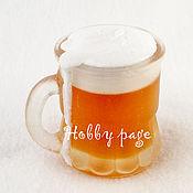 Материалы для творчества handmade. Livemaster - original item Silicone molds for soap Beer mug. Handmade.