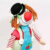 """Куклы и игрушки ручной работы. Ярмарка Мастеров - ручная работа Игрушка """"Клоун"""". Handmade."""
