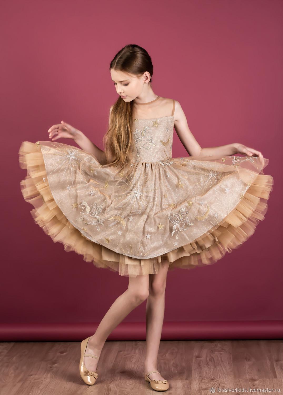 """Шикарное платье """"Gold Shine"""", Платья, Москва,  Фото №1"""