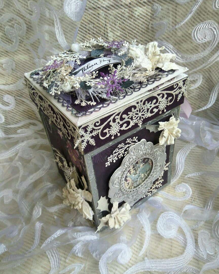 Коробочка новогодняя для денег, открытка на новый год, Magic box нг, Открытки, Долгопрудный,  Фото №1