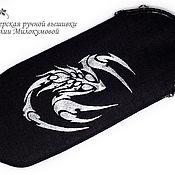 Сумки и аксессуары handmade. Livemaster - original item eyeglass case: Scorpio. Handmade.