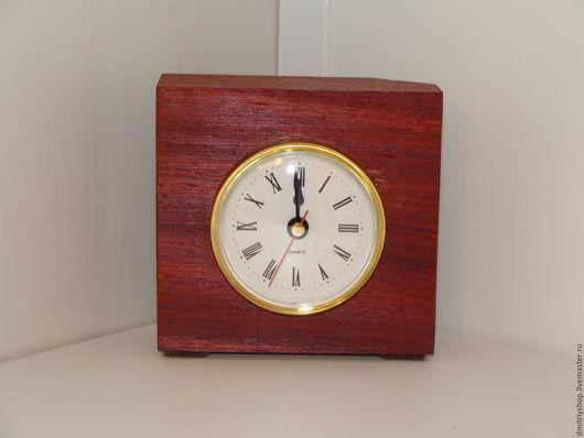 Часы для дома ручной работы. Ярмарка Мастеров - ручная работа. Купить Часы настольные деревянные Падук. Handmade. Комбинированный