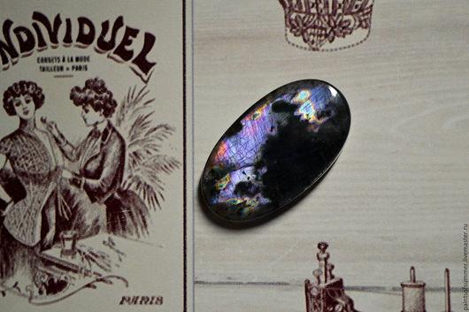 Для украшений ручной работы. Ярмарка Мастеров - ручная работа. Купить Лабрадорит спектролит. Кабошон 39 Х 22 Х5. Handmade.