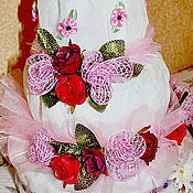 Подарки к праздникам ручной работы. Ярмарка Мастеров - ручная работа Торт из подгузников. Handmade.