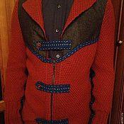 Одежда ручной работы. Ярмарка Мастеров - ручная работа Пиджак-кофта для мужчины. Handmade.