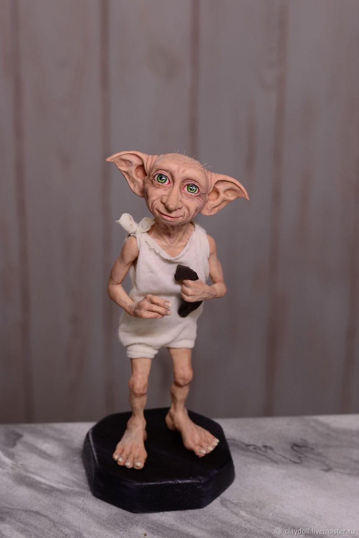 Добби, кукла из полимерной глины, Статуэтки, Москва,  Фото №1