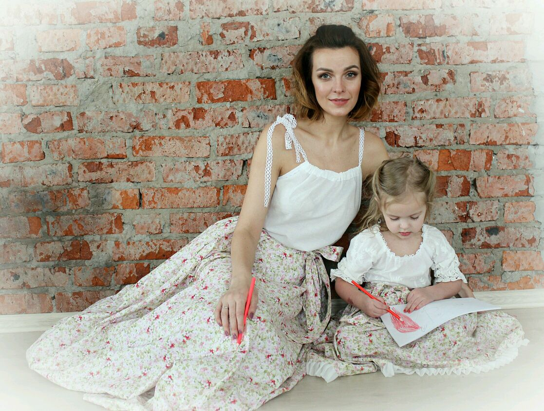 Family Duo of skirts 'Provence', Skirts, Moscow,  Фото №1