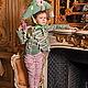 Карнавальные костюмы ручной работы. Ярмарка Мастеров - ручная работа. Купить Костюм МАЛЕНЬКИЙ НАПОЛЕОН. Handmade. Мятный, Наполеон