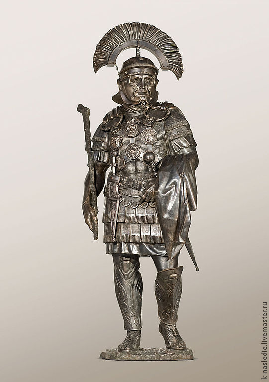 Скульптура Центурион - римский воин (бронзовая скульптура), Скульптуры, Москва,  Фото №1