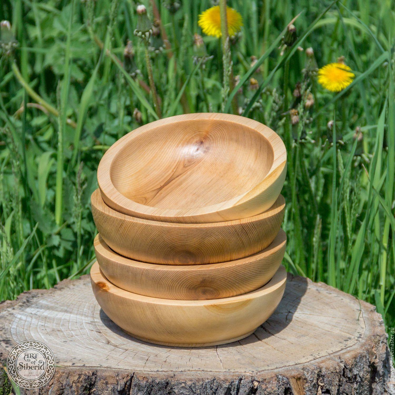 Pine Wooden Plates (4#10, Utensils, Novokuznetsk,  Фото №1