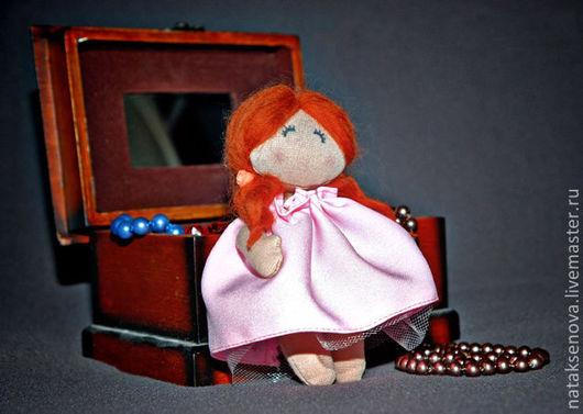 Коллекционные куклы ручной работы. Ярмарка Мастеров - ручная работа. Купить Малышка тряпиенса. Handmade. Игрушка, тряпиенса, для детей, трикотаж
