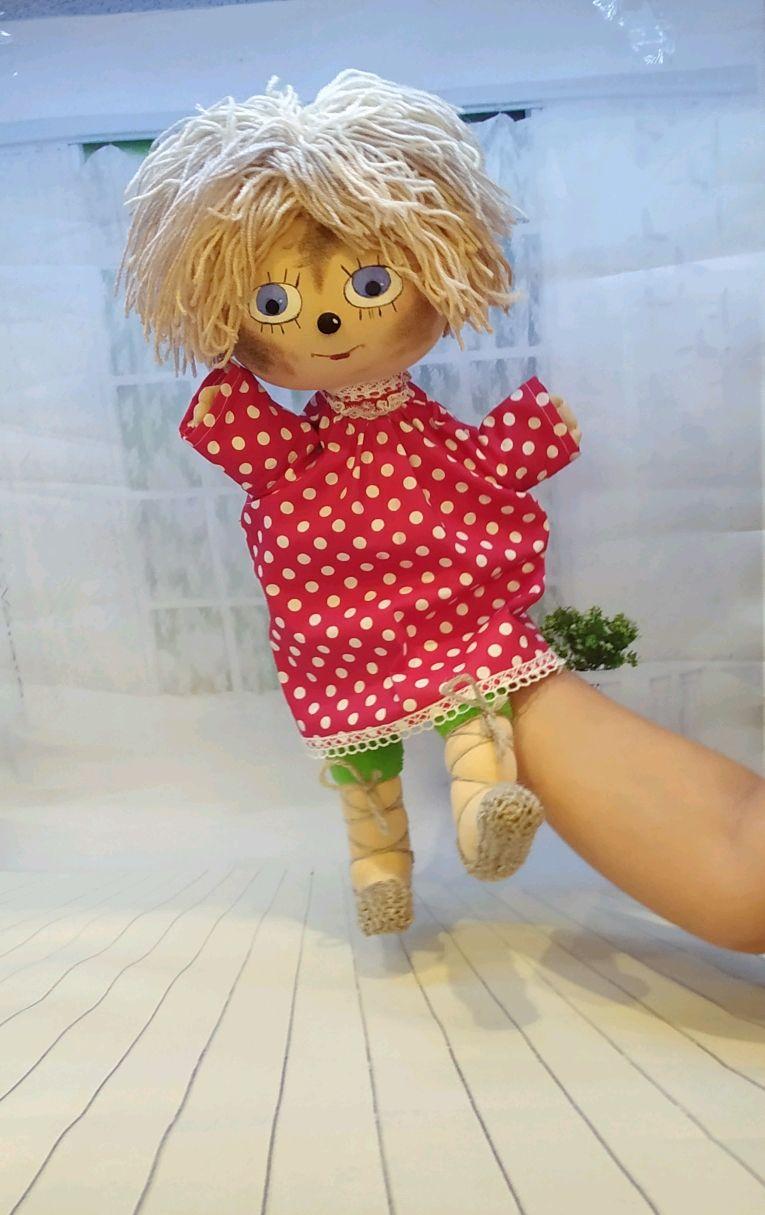 Домовёнок Кузя игрушка на руку для кукольного театра, Кукольный театр, Санкт-Петербург,  Фото №1