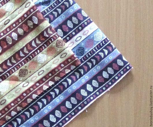 Шитье ручной работы. Ярмарка Мастеров - ручная работа. Купить Набор тканей из хлопка 2 отреза(8). Handmade. Хлопок