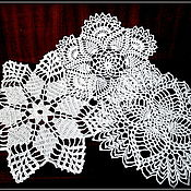 Для дома и интерьера ручной работы. Ярмарка Мастеров - ручная работа Кружевные салфетки. Handmade.