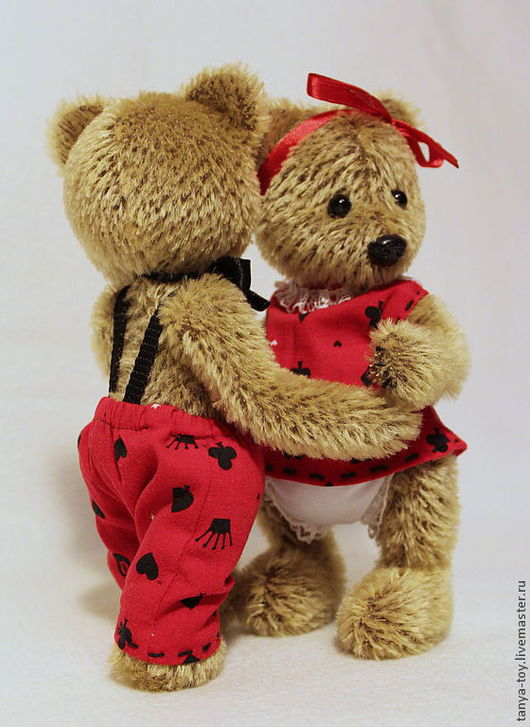 Мишки Тедди ручной работы. Ярмарка Мастеров - ручная работа. Купить Медвежий Вальс. Handmade. Игрушка ручной работы, тедди