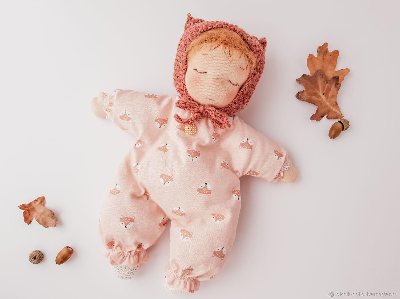 Кукла-сплюшка, вальдорфская кукла, вальдорфский пупс, кукла-бабочка 30, Вальдорфские куклы и звери, Ростов-на-Дону,  Фото №1