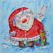 Картины и панно ручной работы. Ярмарка Мастеров - ручная работа Морозик. Handmade.