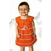 """Одежда ручной работы. Ярмарка Мастеров - ручная работа Нарядное платье для маленькой модницы """"Очаровашка"""". Handmade."""