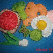 """Куклы и игрушки ручной работы. Ярмарка Мастеров - ручная работа Развивашка""""Все для бутербродика"""". Handmade."""