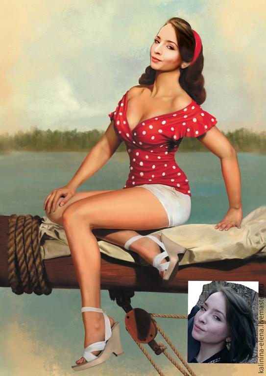 Фотоколлаж женский, Фотокартины, Королев,  Фото №1