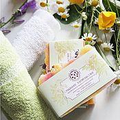 Косметика ручной работы handmade. Livemaster - original item Soap natural Flowers of the meadow from scratch and handmade. Handmade.