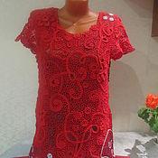 Одежда ручной работы. Ярмарка Мастеров - ручная работа Лето красное. Handmade.