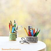 Цветные карандаши миниатюра