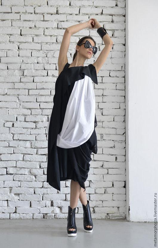 Платья ручной работы. Ярмарка Мастеров - ручная работа. Купить Платье вечернее, платье черное. Handmade. Однотонный, платье вечернее