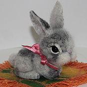 Куклы и игрушки ручной работы. Ярмарка Мастеров - ручная работа Заинька Пятнашка. Handmade.