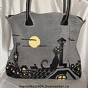 """Сумки и аксессуары ручной работы. Ярмарка Мастеров - ручная работа сумка """"Ночная кошка"""". Handmade."""