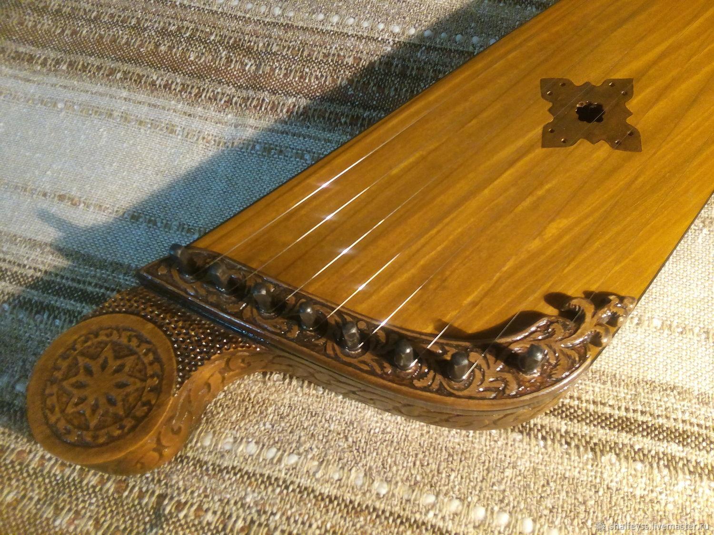 Струнные инструменты ручной работы. Ярмарка Мастеров - ручная работа. Купить Гусли крыловидные. Handmade. Гусли крыловидные