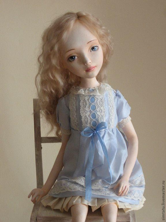 Коллекционные куклы ручной работы. Ярмарка Мастеров - ручная работа. Купить Анастасия. Handmade. Подарок девушке, кукла девочка, кружево