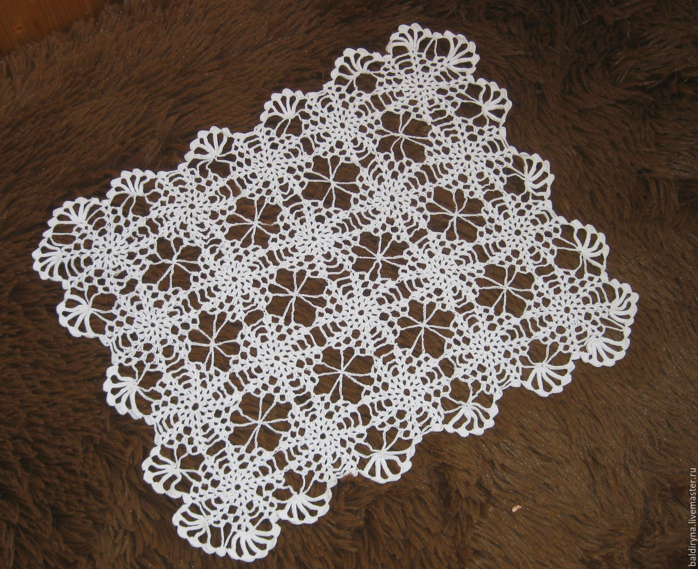Paño de ganchillo rectangular Heladas de patrones – compra u ordena ...