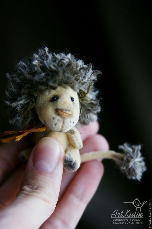 Мишки Тедди ручной работы. Ярмарка Мастеров - ручная работа. Купить Самый маленький лев FannySavanny. Handmade. Бежевый, львенок