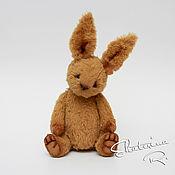 Куклы и игрушки ручной работы. Ярмарка Мастеров - ручная работа Винтажный тедди зайчик Томми. Handmade.