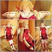 """Куклы и игрушки ручной работы. Ярмарка Мастеров - ручная работа интерьерная игрушка """"Ангел любящих сердец"""". Handmade."""