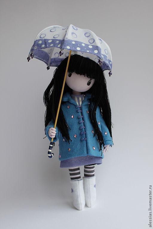 Коллекционные куклы ручной работы. Ярмарка Мастеров - ручная работа. Купить Девочка с зонтиком.по картинке  Сюзен  Вулкотт... авторская работа.... Handmade.