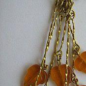 Украшения ручной работы. Ярмарка Мастеров - ручная работа Листья желтые. Handmade.